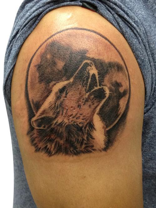 Фото тату с волком и что они означают