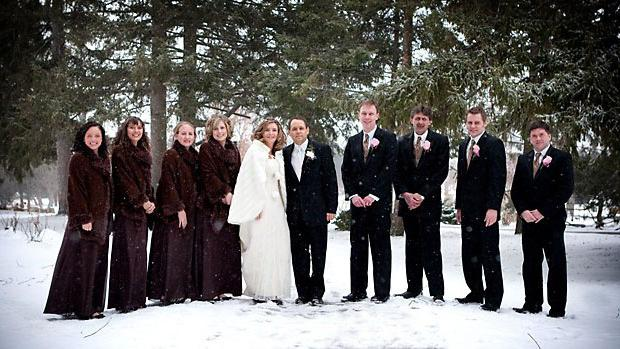 Свадьба зимой. плюсы и минусы