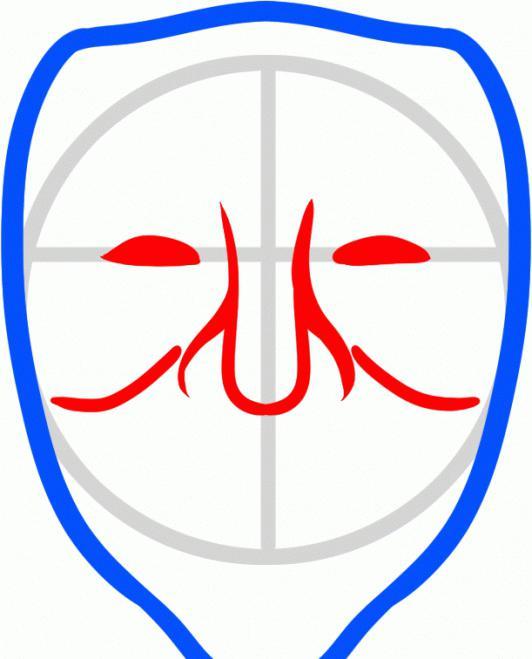 как нарисовать маску