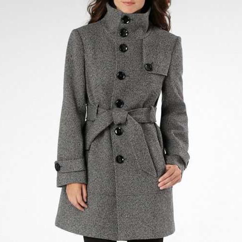 красиво завязать пояс на пальто