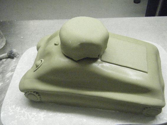 как приготовить торт танк