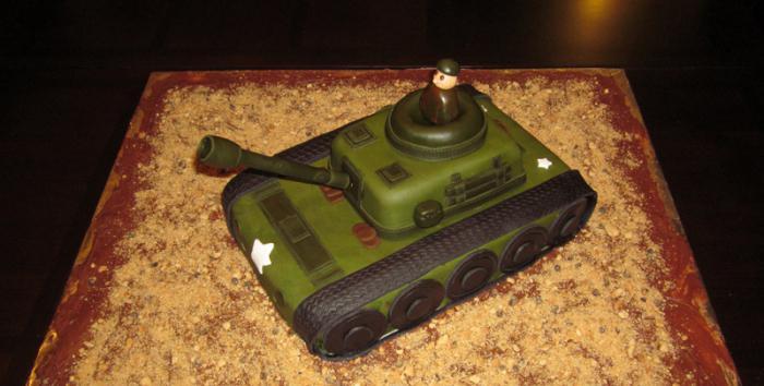 Торт танк своими руками рецепт с фото без мастики 57