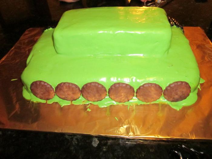 рецепт торта танк