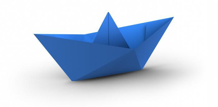 cделать корабль из бумаги