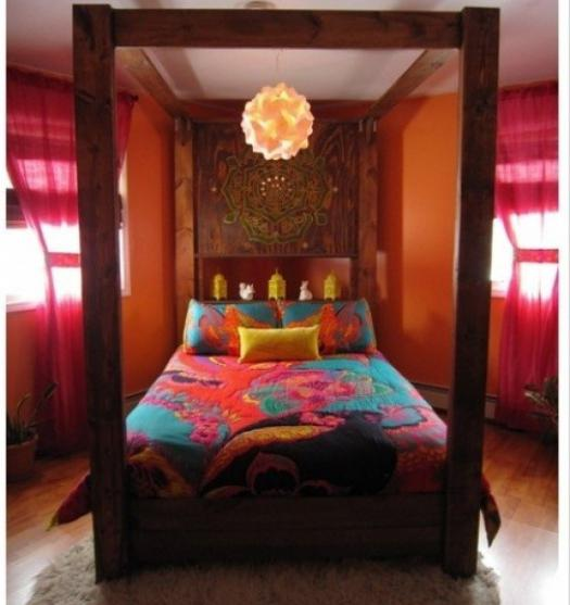 Slaapkamer in oosterse stijl