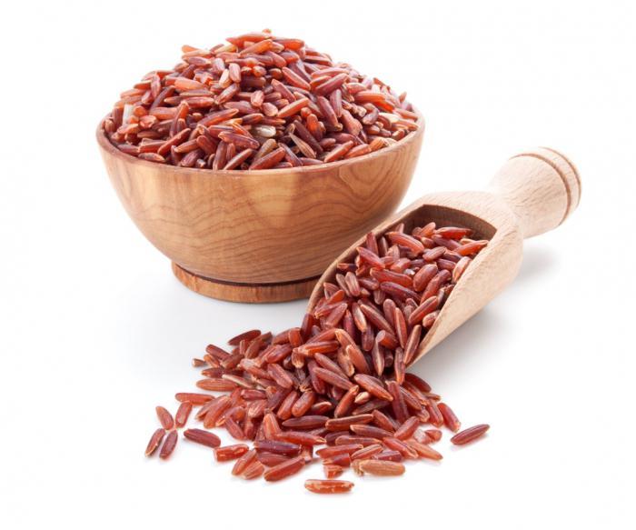 свойства красного риса
