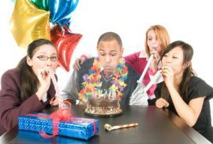 с коллегами день рождения