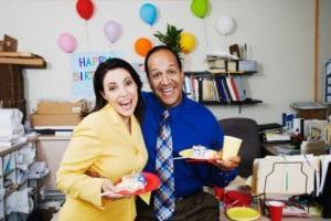 день рождения с коллегами