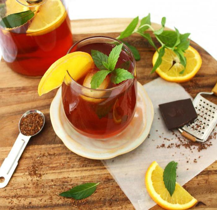 чай ройбуш вред