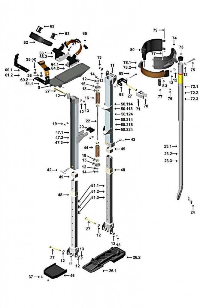 Ходули строительные своими руками: пошаговая инструкция