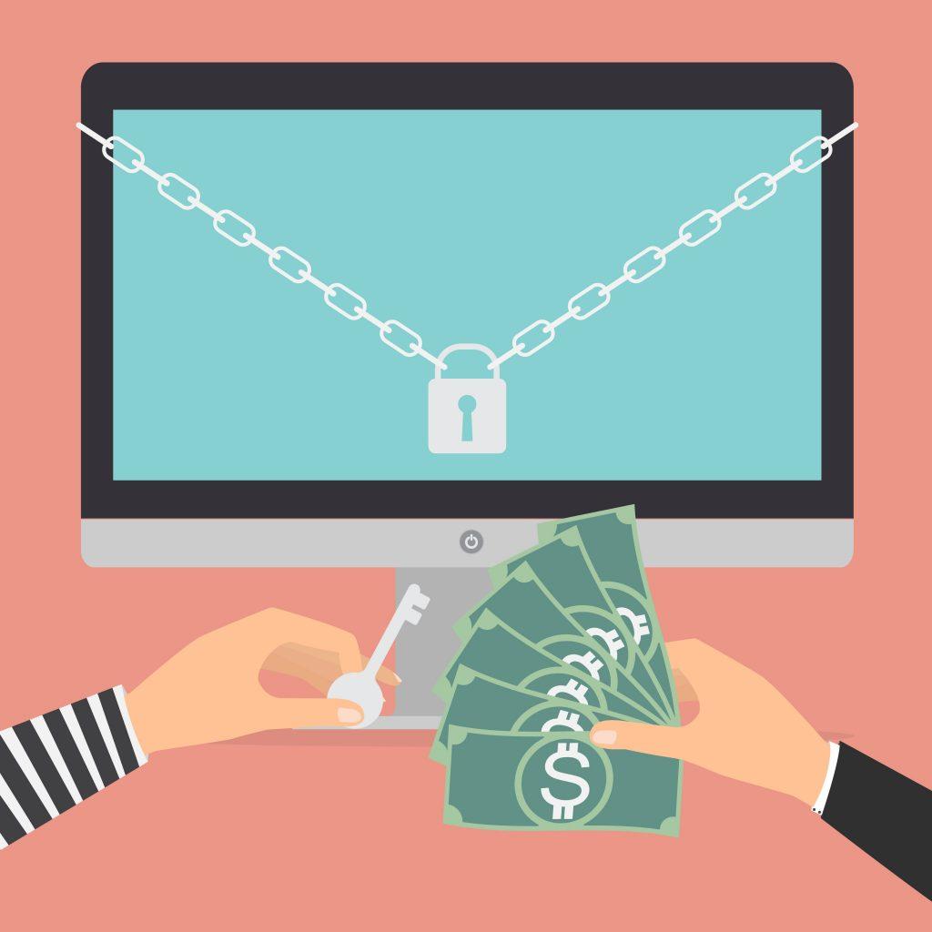 money near the computer