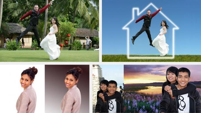 Как поменять фон на фотографии: простые советы