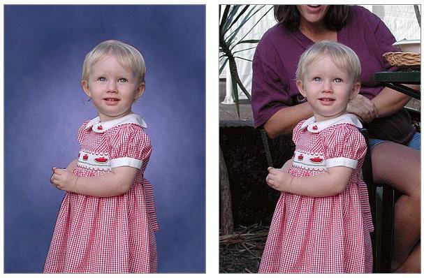 фоны для детских фотографий