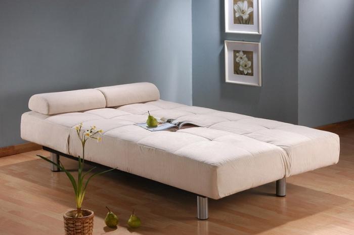 Диван-кровать Скандинавия с раскладывающимся механизмом клик-кляк + 2 ортопедических матраса