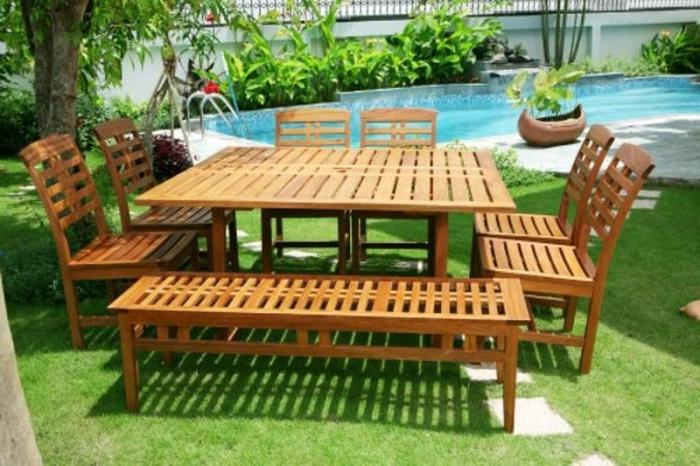 садовая мебель из дерева своими руками