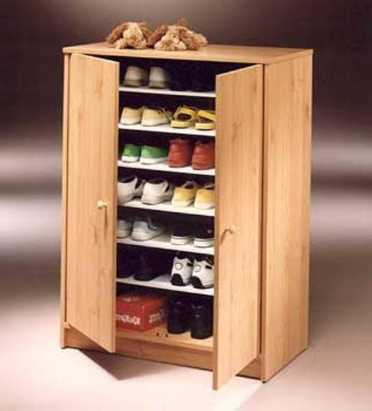 узкий шкаф для обуви