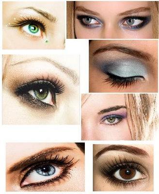 Как сделать глаза больше с помощью теней 119
