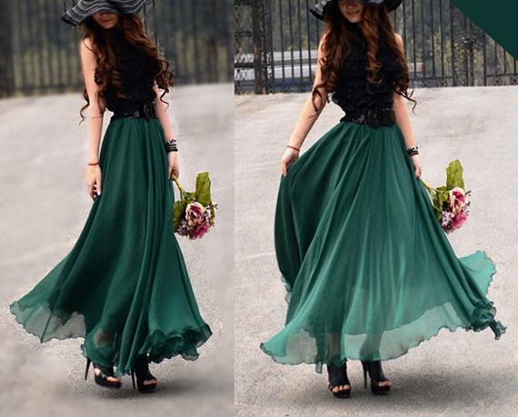 Своими руками юбка в платье в пол
