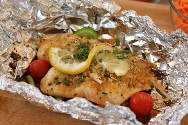 Рыба в фольге в мультиварке – рецепты