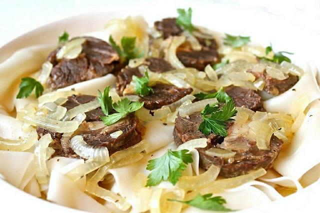 Блюдо бешбармак рецепт