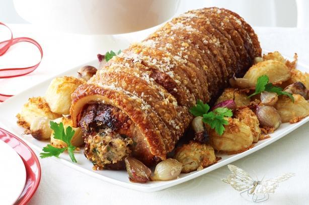 свинина под картошкой в духовке