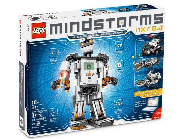 робот lego mindstorms