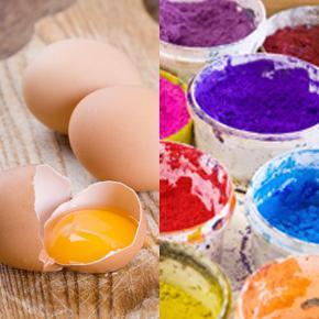 темперные краски как рисовать