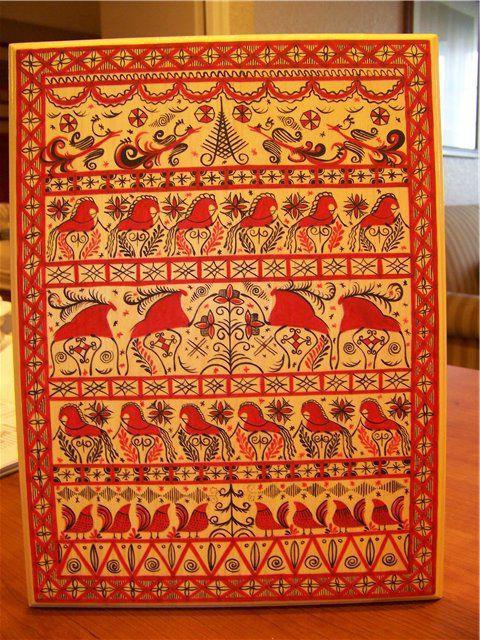 история мезенской росписи