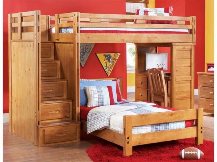кровать чердак сборка