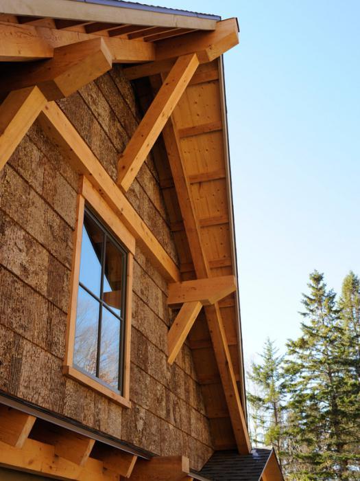 Деревянный фронтон своими руками фото 36