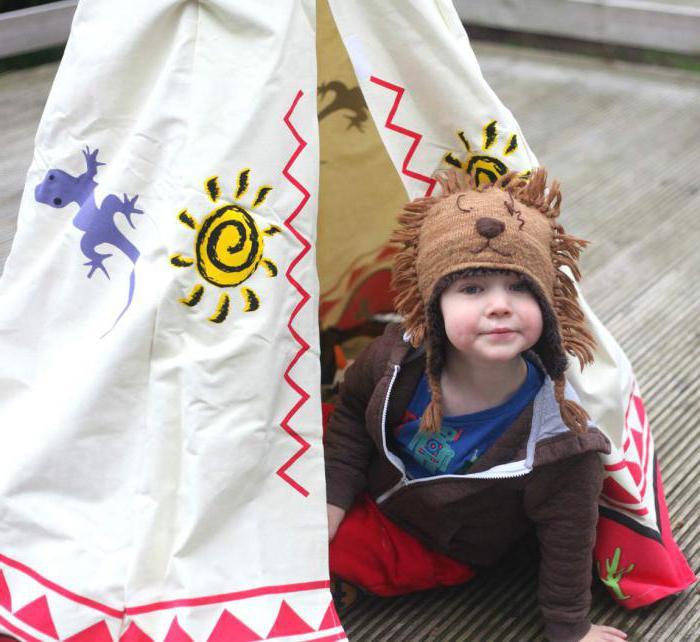 Вигвамы для деток — личное место для гармонического развития