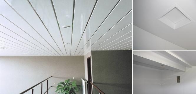 Подвесной потолок из пвх своими руками фото