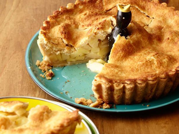 рецепт заливного пирога с яблоками