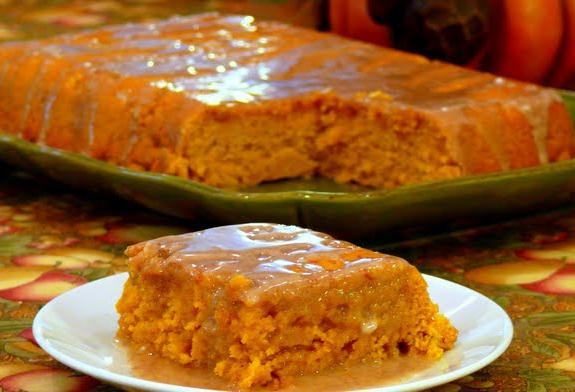 Пирог с тыквой и яблоками простой рецепт