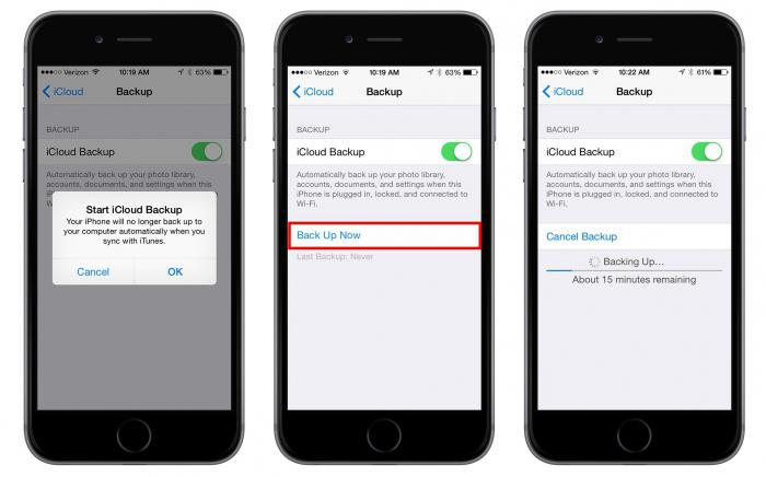 Как сделать резервную копию на айфоне 5s