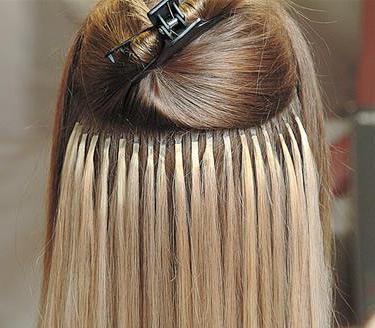 наращивание волос холодное наращивание