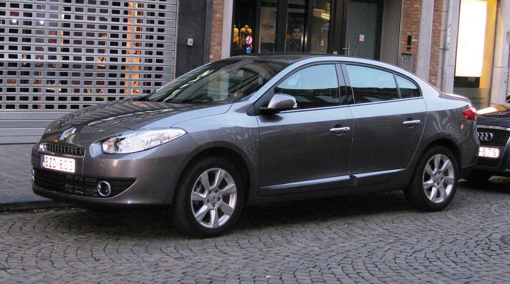 Renault Fluence модификация