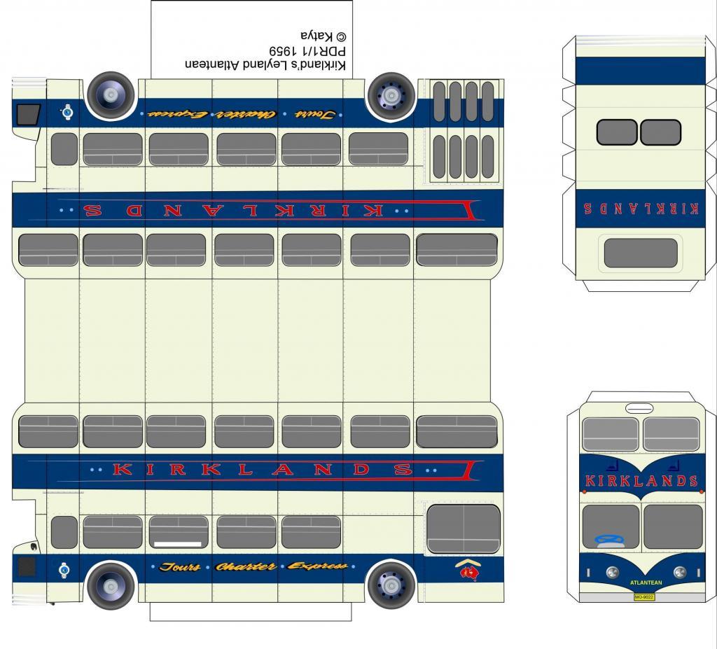 Как сделать автобус из бумаги: пошаговая инструкция