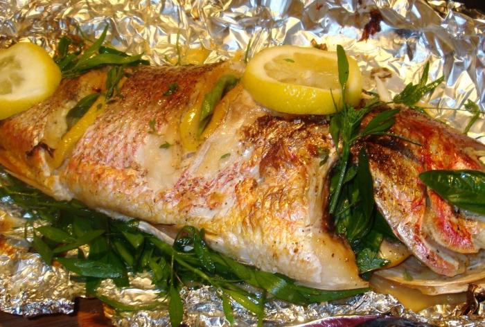 Рыба фольге духовке рецепты фото