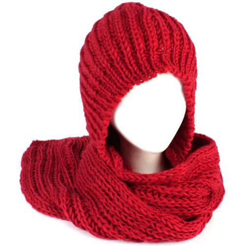 капюшон шарф спицами