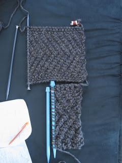 шарф капюшон спицами схема