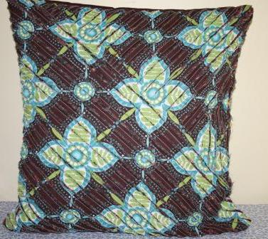 подушки в технике синель