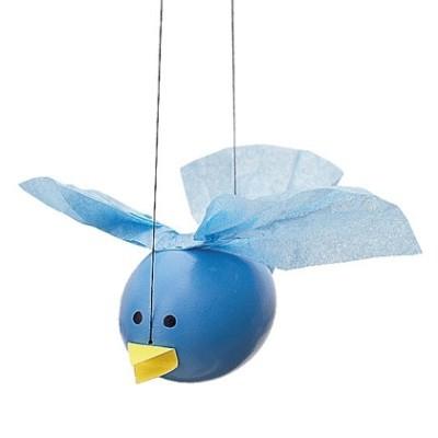 детские поделки птицы