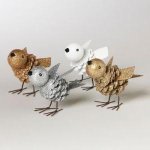 поделка «птичка» своими руками из природного материала