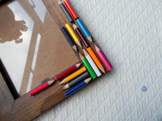 Картина из карандашей своими руками 25