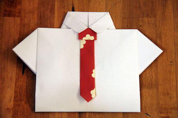 подарок дедушке на 23 февраля своими руками из бумаги