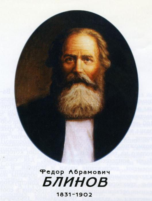 федор абрамович блинов