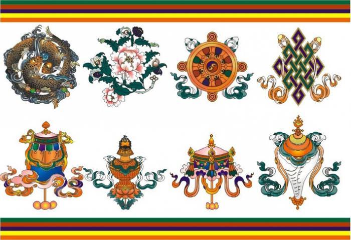 Восемь благоприятных символов