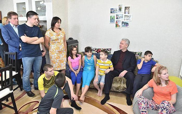 семья собянина сергея семеновича