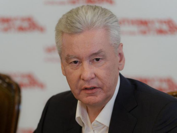 биография собянина сергея семеновича